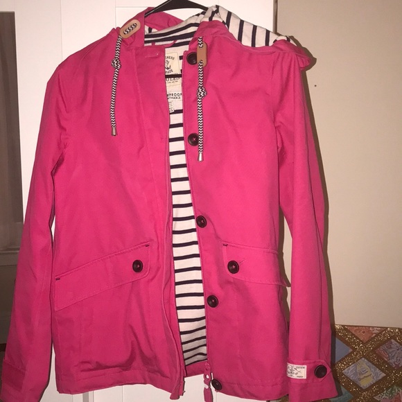 big discount fashion terrific value EUC Joules Pink Raincoat sz 4
